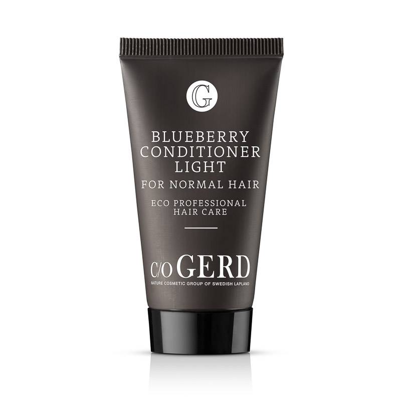 BLUEBERRY CONDITIONER LIGHT 30 ML in der Gruppe Haarpflege / Conditioner & Leave in bei  Nature Cosmetic Group Of Swedish Lapland AB (103-0030)