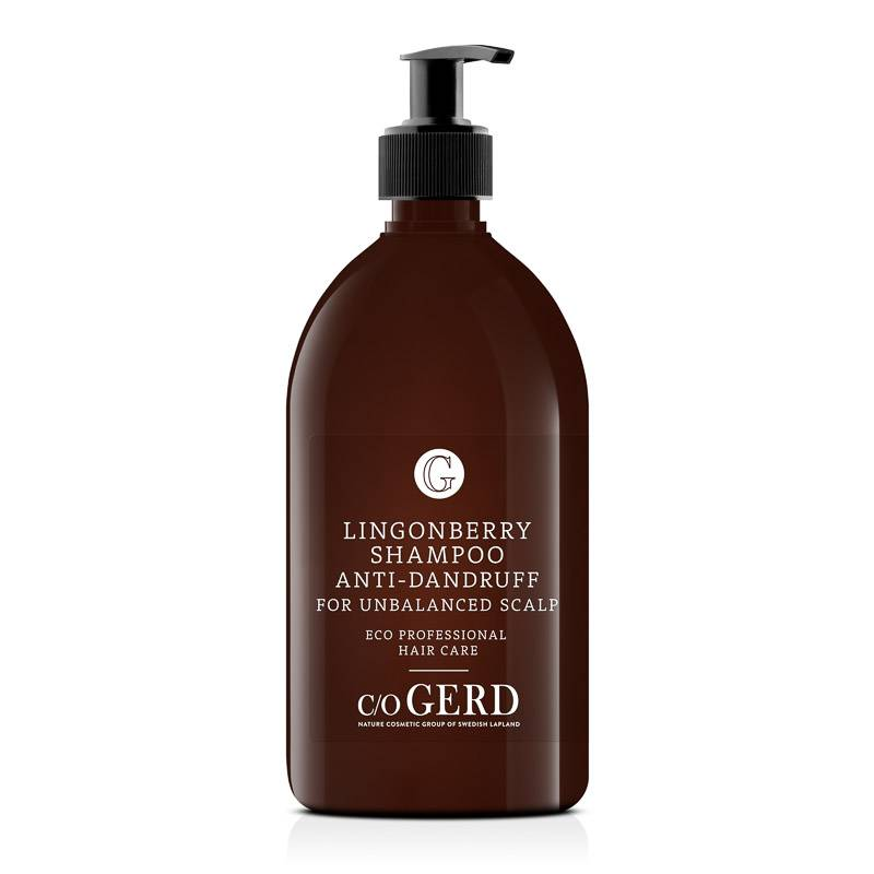 Lingonberry Shampoo 500 ml in der Gruppe Haarpflege / Shampoo bei  Nature Cosmetic Group Of Swedish Lapland AB (112-0500)